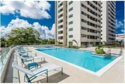 Apartamento Semi mobiliado e reformado - Capim Macio no Parque Cidade Jardim c 2Qts-1suíte