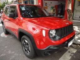 Jeep renegate 1.8 manual, vermelho 4300km 2019
