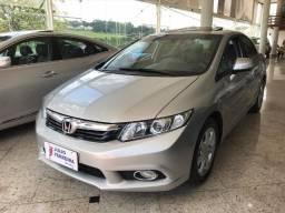 Honda Civic 2.0 EXR Automático Flex Prata - 2014