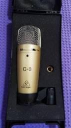 Microfone Behringer Condensador C-3