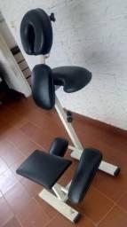Cadeira de quick massagem fixa