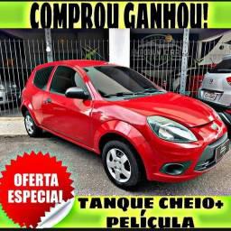 TANQUE CHEIO SO NA EMPORIUM CAR!!!! FORD KA 1.0 2 PORTAS ANO 2013 COM MIL DE ENTRADA