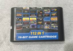 Mega Drive 112 jogos