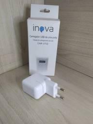 Fonte turbo USB inova 2,4a