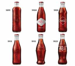 Garrafinhas antigas Coca Cola
