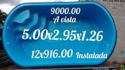 Piscina 5.00x2.95x126