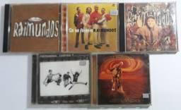 Lote 5 cds Raimundos - ótimo estado