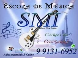 Título do anúncio: Curso de Guitarra