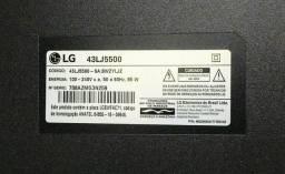TV LG 43LJ5500 * (para retirada de peças)