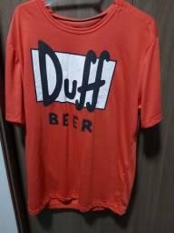 Pijama Duff Tamanho M