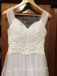 Título do anúncio: Vestido de Noiva ou Debutante