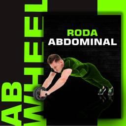Título do anúncio: Roda abdominal abweel Dupla, com tapete p/ Joelhos