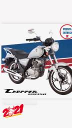 Título do anúncio: Intruder / Chopper Road 150 zero