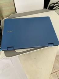 Notebook com Touch scream 2 em 1