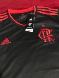 Camisa Flamengo Preta 21/22- Mesma Fábrica das originais, qualidade Perfeita
