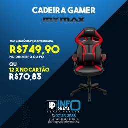 Título do anúncio: Cadeira Gamer Mymax MX1 Preta e Vermelha