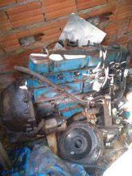 Motor do opala 6 cilindros
