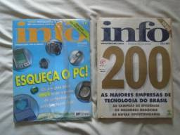 Título do anúncio: Revista Info (número 161 E 162) - Lote