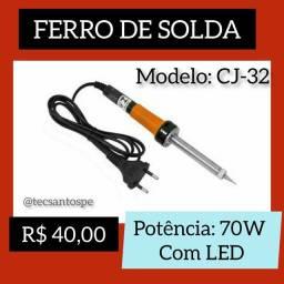 Título do anúncio: Ferro de Solda 70W com LED
