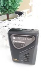Título do anúncio: Radio walkman panasonic am fm fita k7