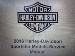 Manual de Serviços Harley Davidson Sportster  2016