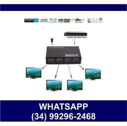 Split Distribuidor HDMI 1x4 * Fazemos Entregas