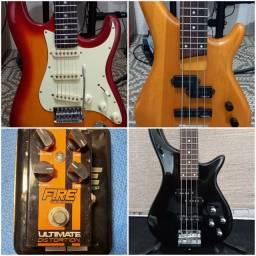 Instrumentos e pedal