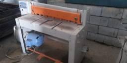 Guilhotina para Chapas 2,0x1000mm c/ Motor 3cv 220v