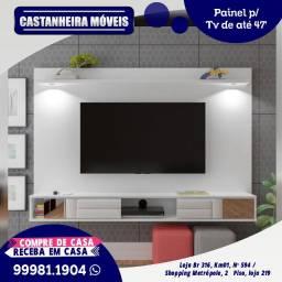 Painel Platinum, p/ Tv's de até 47 polegadas, 10x de R$109,90, sem Juros!!!