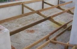 Trabalho com telhados entijolamento reformas etc