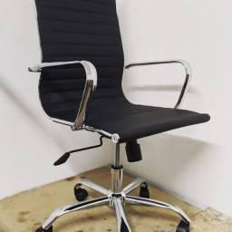 Título do anúncio: Cadeira Presidente Preta TOP