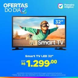 "Smart tv led 32"" samsung 32t4300a - wi-Fi HDR 2 HDMI 1 USB"