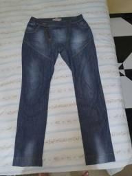Calça feminina saruel jeans