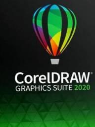 Coreldraw 2020 32/64bits ativado Campeão de vendas
