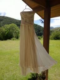 Vestido de noiva com cristais swarovski