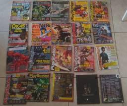 Revista antigas detonados de games - colecionadores