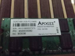 Memória DDR2 Notebook
