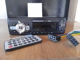 Rádio automotivo MP3 bluetooth FRETE grátis