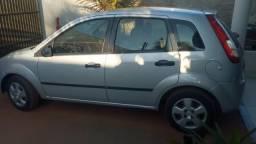 Ford Fiesta Vendo, troco, 2007/08 Flex 1.0 cor Prata 4 Portas - 2007