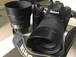 Vendo Nikon D7000 com a lente do kit 18x105mm + lente 50mm 1.8G