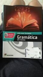 Gramática em textos volume único leila lauar Sarmento