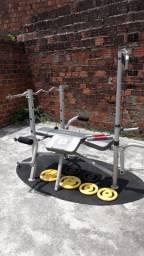 Máquina de Musculação completa!!!