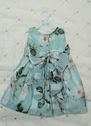 Vestido de festa - Infantil (1ano aprox)