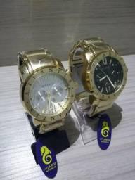 Relógio Atlantis Original Modelo Bvlgari (79 9 9818-1901) (Loja Rei Imports)