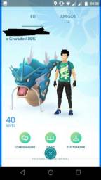 Conta Pokemon Go nivel 40