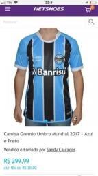 Camisa do Grêmio 2017