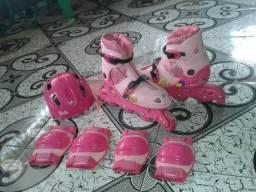 Kit Patins da Barbie só R$100,00
