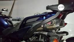 Ponteira Escapamento WR Carbon Fazer 600 Fazer600 Fz6