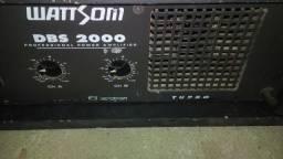 Amplificador dbs 2000 watsom