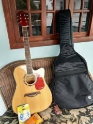 Vendo violão elétrico giannini